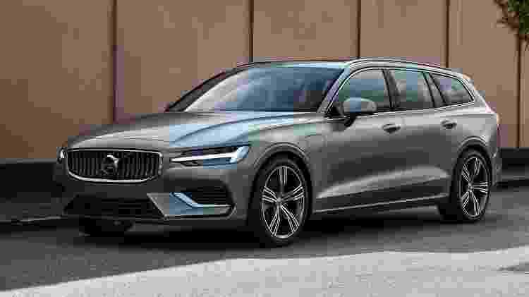 Volvo V60 F - Divulgação - Divulgação