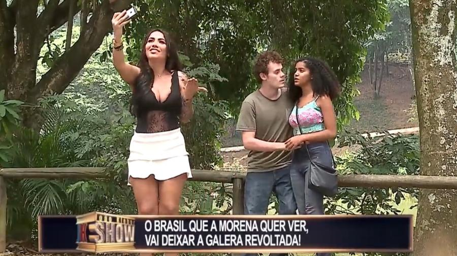 """Campanha """"O Brasil Que Eu Quero"""", da Globo, vira pegadinha de João Kleber na RedeTV! - Reprodução/RedeTV!"""