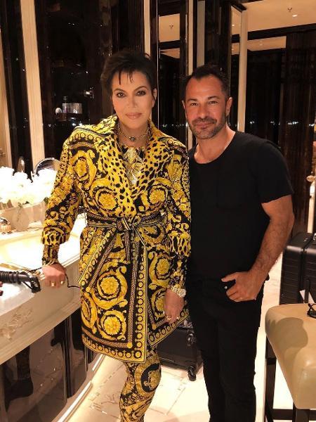 Kris Jenner publicou uma foto que intrigou internautas - Reprodução/Instagram