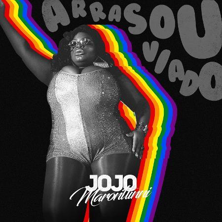 """Capa do single """"Arrasou Viado"""", de Jojo Todynho - Divulgação"""