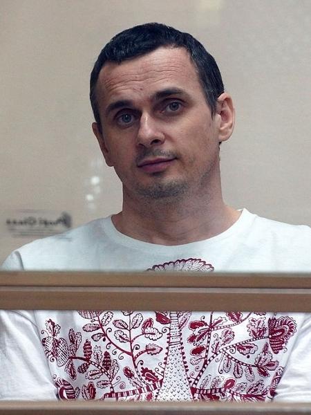 O cineasta Olega Sentsov em registro de 2015 - Reprodução