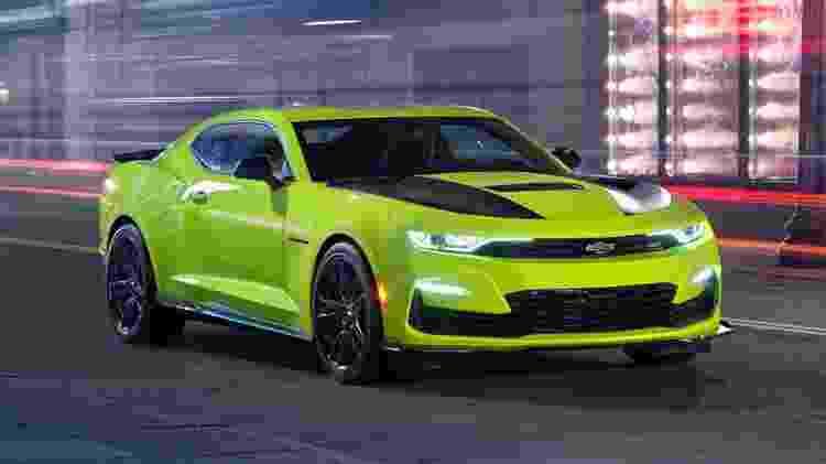 Camaro exibido no SEMA Show já antecipava novo design - Divulgação