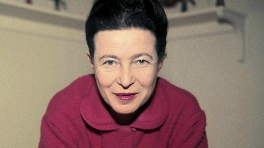 Simone de Beauvoir: filósofa e escritora trouxe algumas das contribuições mais importantes para o feminismo - Reprodução