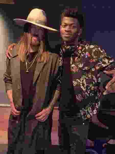 Lil Nas X com Billy Ray Cyrus - Reprodução/Instagram - Reprodução/Instagram
