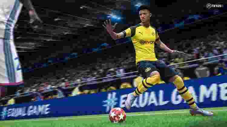 """No Switch, """"FIFA 20"""" não terá modo Volta - Divulgação"""