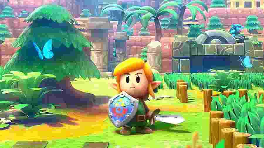 """""""Zelda Link""""s Awakening"""" é o principal lançamento, mas não o único - Divulgação"""