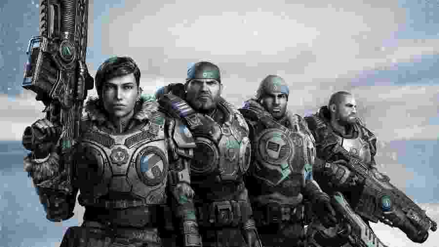 Gears of War Armas - Divulgação