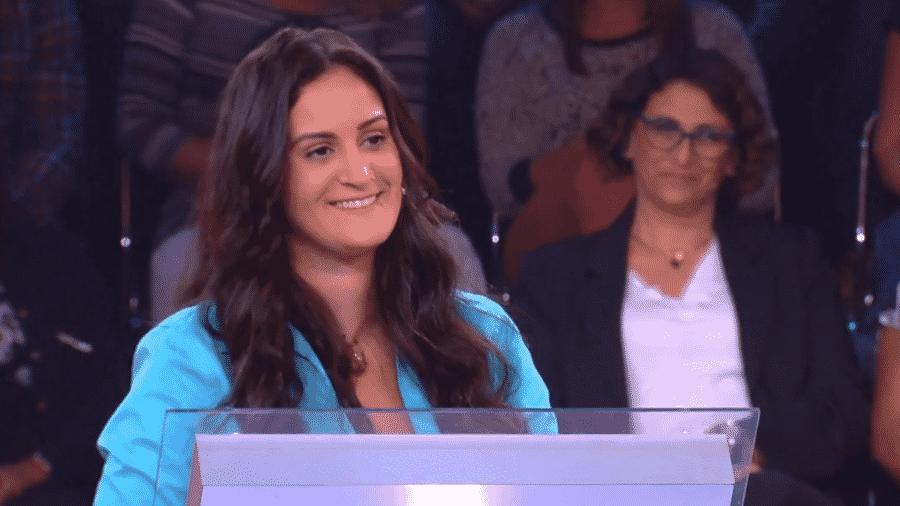 Luciana Frazão participa do Quem Quer Ser Um Milionário, do Caldeirão do Huck - Reprodução/TV GLobo