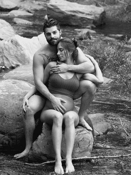 Alok e a mulher Romana mostram novo clique da gravidez - Reprodução/Instagram