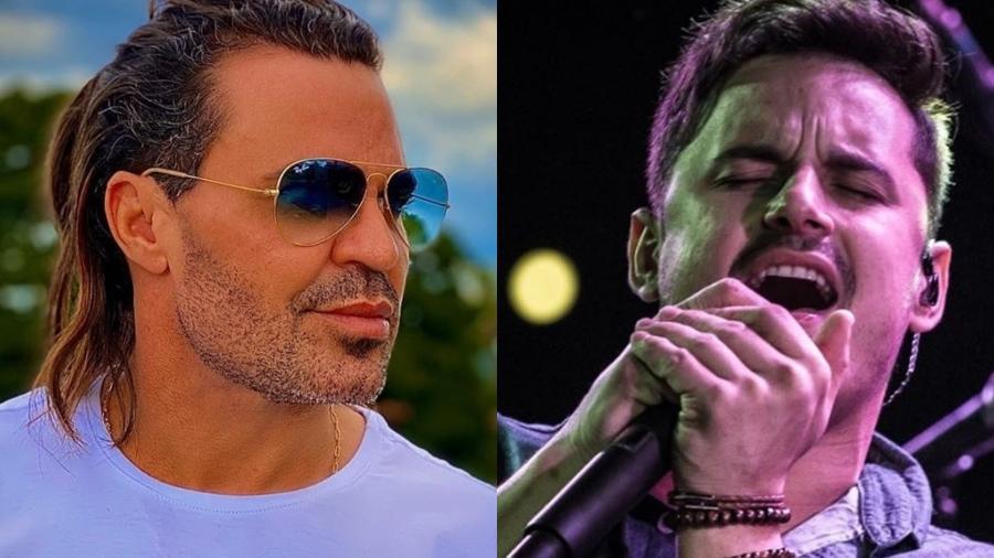 Eduardo Costa e Clayton Lemos, da dupla Clayton & Romário - Reprodução/Instagram