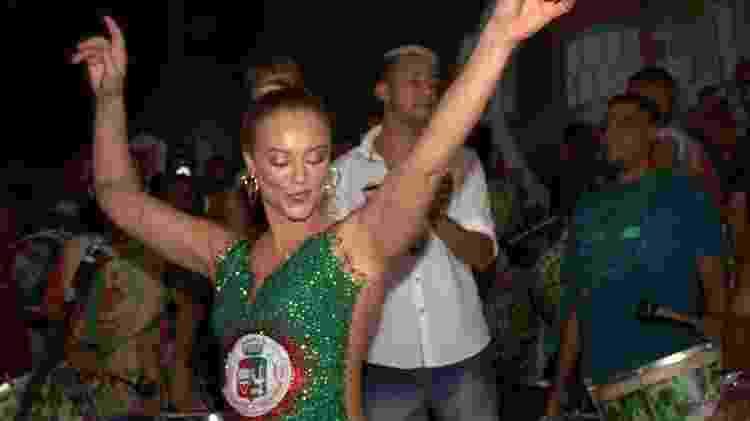Os ensaios da Grande Rio podem contar com a presença de Paolla Oliveira, rainha da bateria - Divulgação