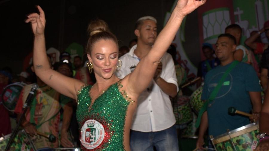 Rainha de bateria da Grande Rio, Paolla Oliveira é uma das principais contratações para o Carnaval do Rio - Divulgação