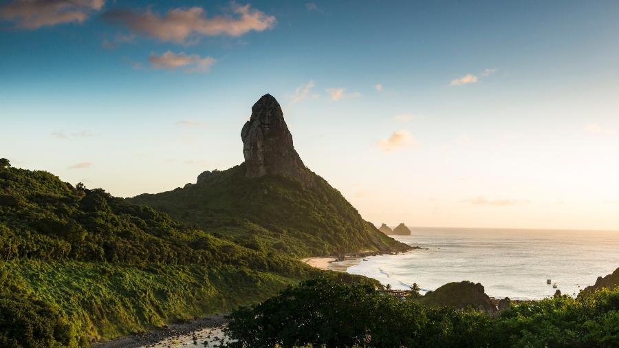 Morro do pico, em Fernando de Noronha - Getty Images