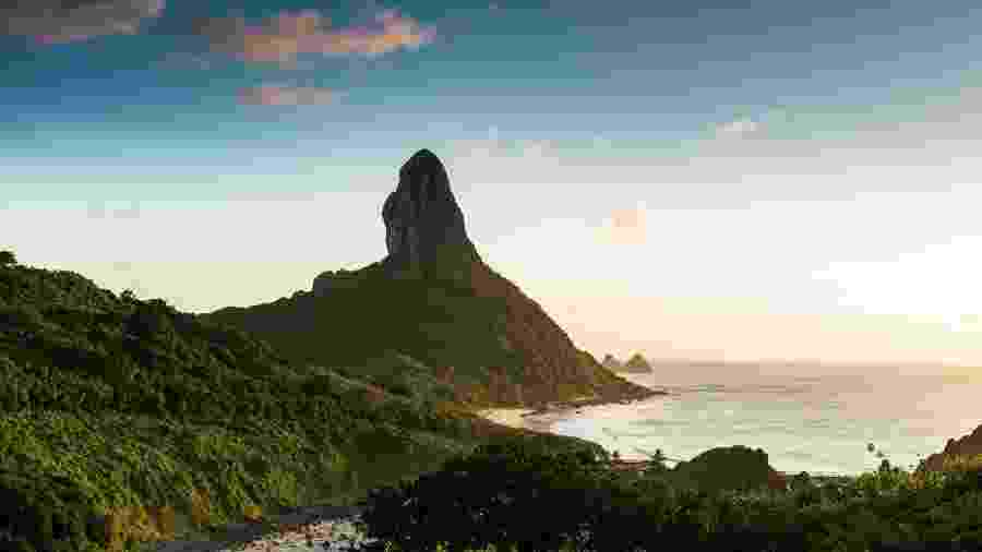 Morro do pico, em Fernando de Noronha - Getty Images
