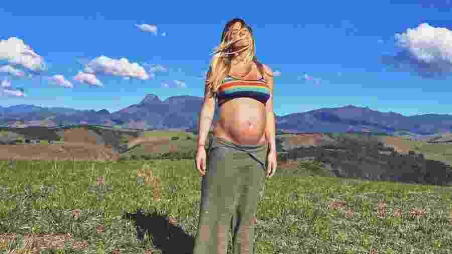 Giovanna Ewbank adora posar para as câmeras durante a gravidez - Reprodução/Instagram