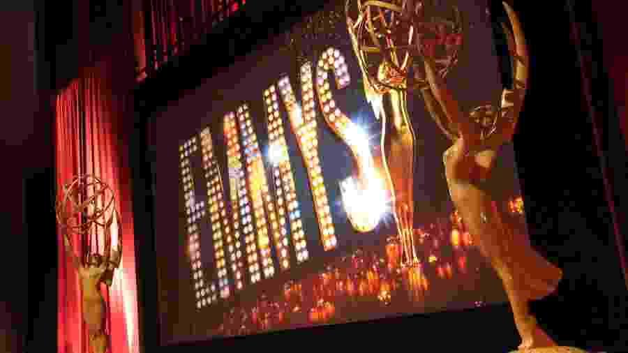 Palco da premiação do Emmy - Getty Images