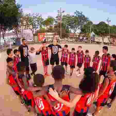 Os treinos do Cara Virada acontecem nas praças do bairro de Santa Margarida, no Rio - Divulgação/ Cara Virada - Divulgação/ Cara Virada