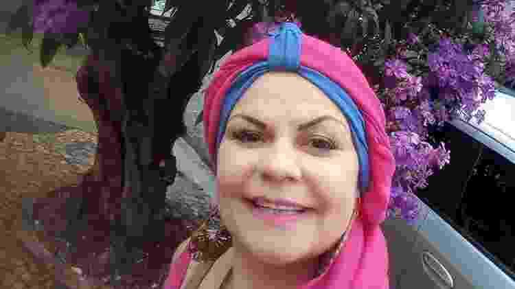 Elaine fez a mastectomia preventiva em 2019 - Arquivo pessoal - Arquivo pessoal