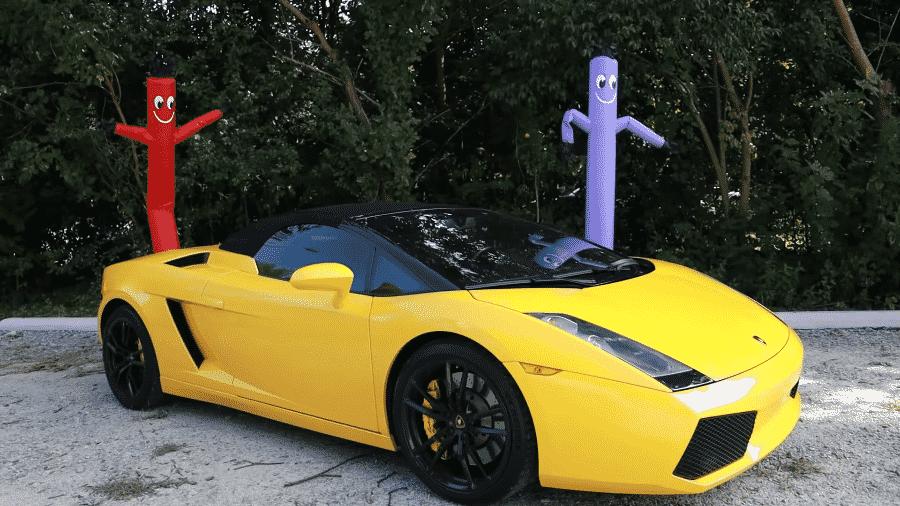 """Lamborghini Spyder dada de presente ao passageiro foi o """"grand finale"""" de vídeo com várias doações - Youtube/MrBeast"""