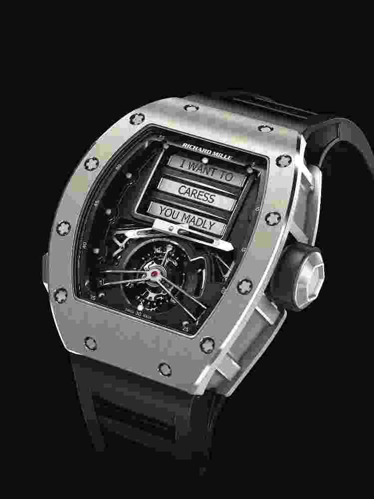 Relógio RM 69 Erotic Tourbillon - Divulgação - Divulgação