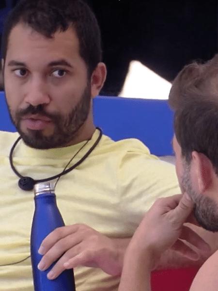 BBB 21: Gil fala sobre briga com Arthur - Reprodução Globoplay