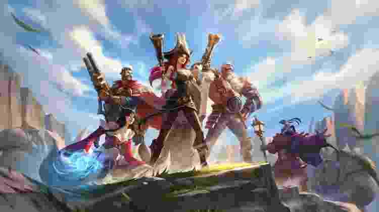 League of Legends: Wild Rift - Divulgação/Riot Games - Divulgação/Riot Games