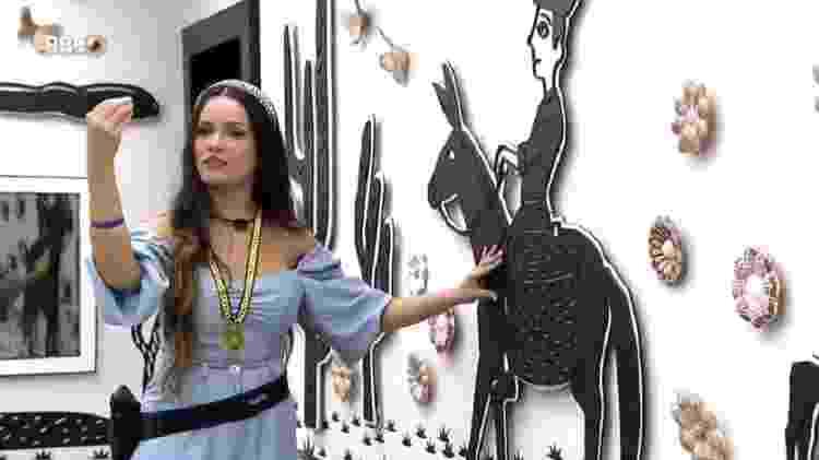 BBB 21: Juliette explica decoração do quarto cordel - Reprodução/Globoplay - Reprodução/Globoplay
