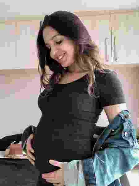 Anna Cecilia deixou de dizer que estava grávida para não ser desclassificada - Arquivo pessoal - Arquivo pessoal