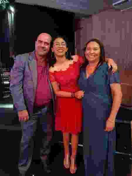 Isabela Ribeiro da Silva, 20 anos, Fortaleza (CE), estudante, filha de Nilberto bezerra da Silva, 52 anos - arquivo pessoal - arquivo pessoal