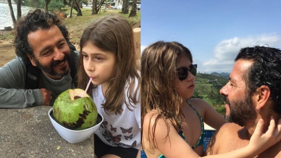 Marcos Palmeira compartilha cliques raros da filha Julia, fruto da relação com Amora Mautner - Reprodução/Instagram