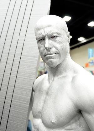 10.jul.2015 - Cosplayers circulam para San Diego Comic-Con durante o 2º dia da convenção