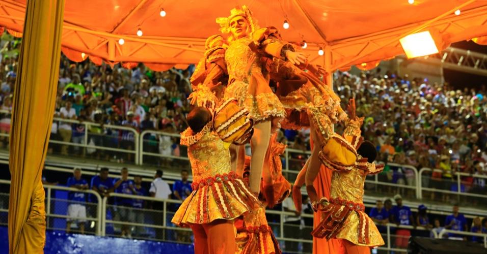 8.fev.2016 - Desfile da Unidos de Vila Isabel