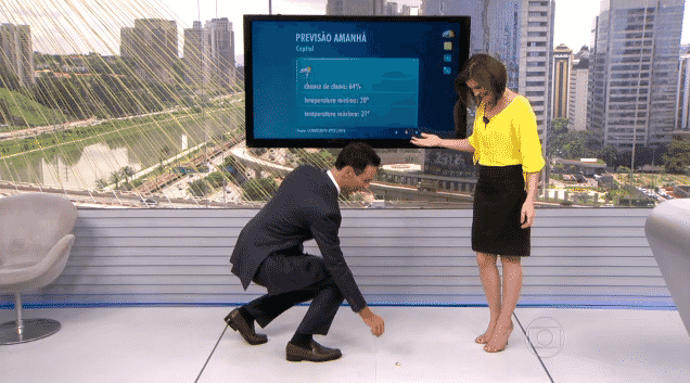 18.fev.2016 - César Tralli - Reprodução/TV Globo