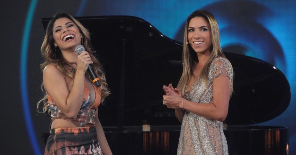 A cantora Lexa é convidada do programa