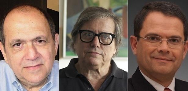 Albino Castro, Paulo Moreira Leite e Sidney Rezende, dispensados pela EBC - Montagem/UOL