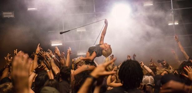 Lady Gaga em cena que pode ser do novo clipe - Divulgação/Twitter