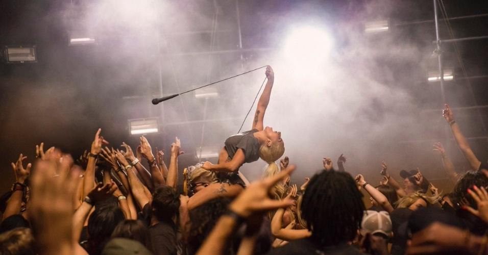 Lady Gaga em cena que pode ser do novo clipe