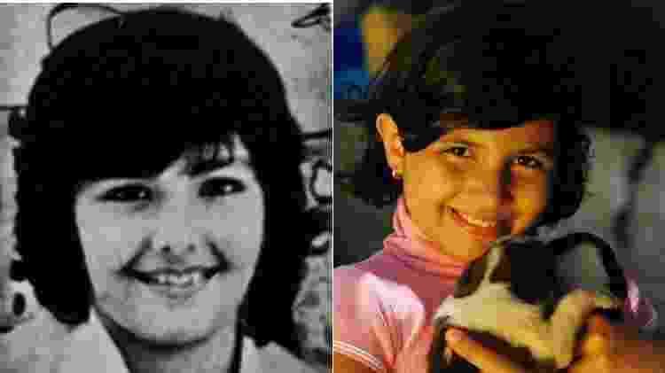 Sobrinha diz que era muito parecida à Roberta Close (à esq.) na infância - Arquivo Pessoal - Arquivo Pessoal