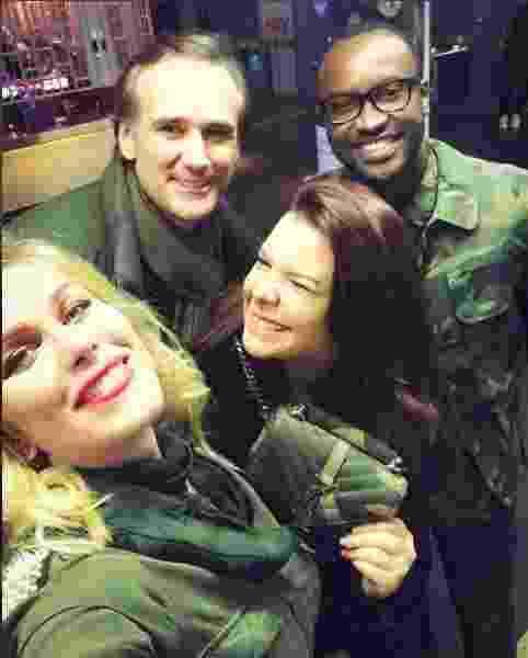 Ludmila Dayer, Thiaguinho e Fernanda Souza em Londres - Instagram/ludayer13