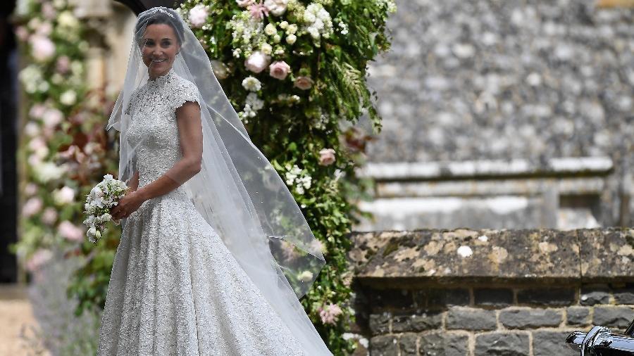 Pippa Middleton no dia de seu casamento com James Matthews - Reuters
