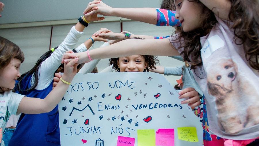 Projeto mostra que meninas podem ser o que quiserem ser independente do gênero - Divulgação