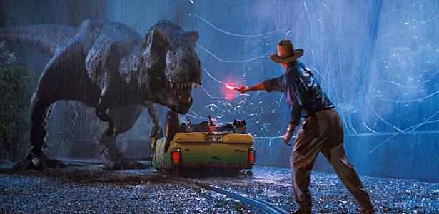 """Cena do filme """"Parque dos Dinossauros"""""""
