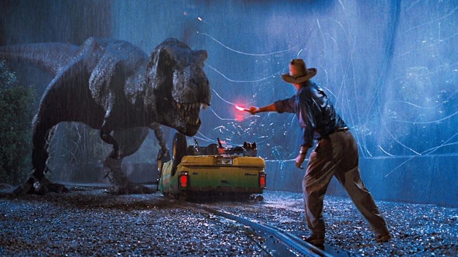 """Cena do filme """"Parque dos Dinossauros"""" - Reprodução"""