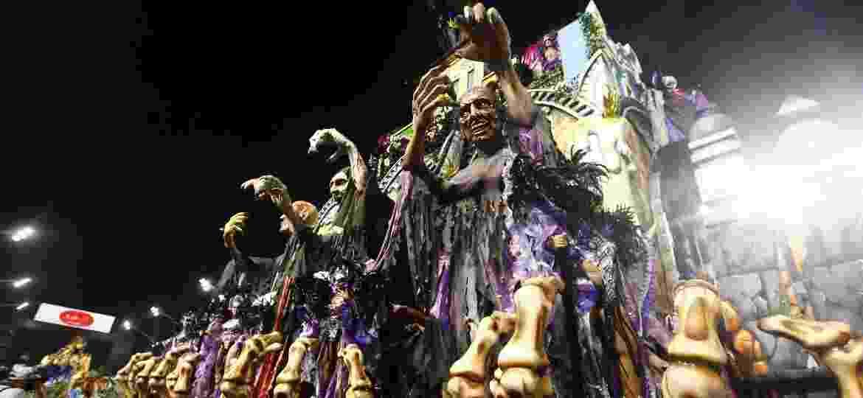 Desfile da Acadêmicos do Tatuapé, que cantou o Maranhão - Ricardo Matsukawa/UOL