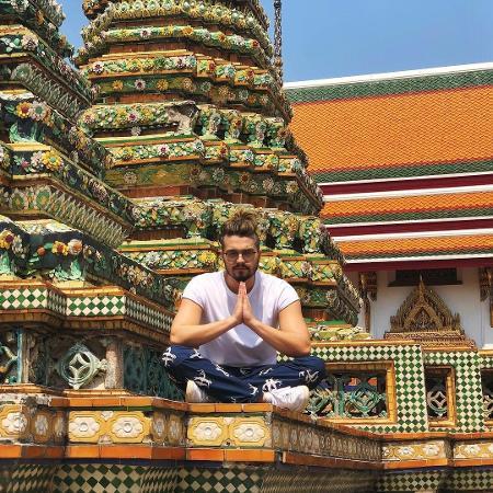 Luan Santana na Tailândia - Reprodução/Instagram