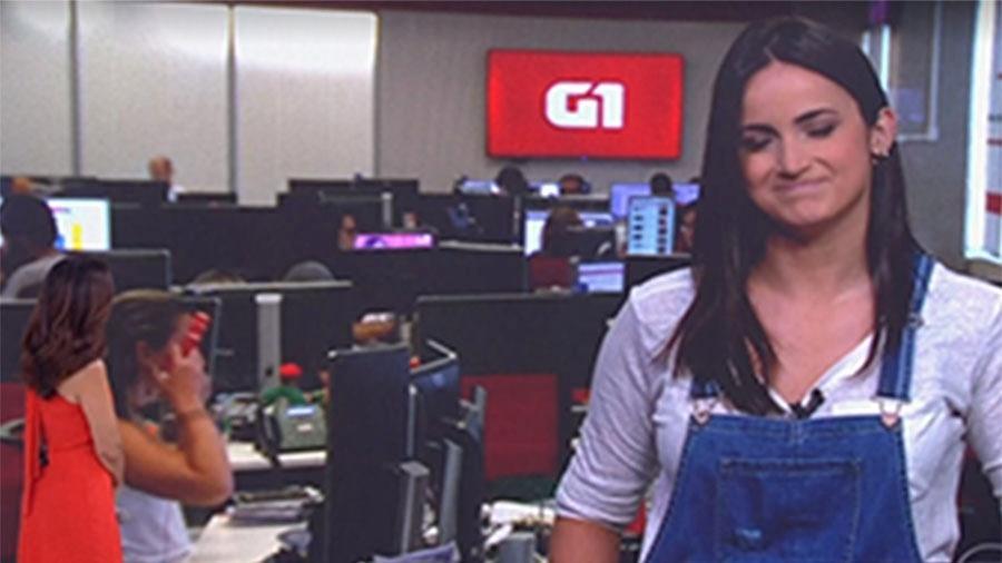 """Mari Palma se emociona no """"Encontro"""" - Reprodução/Globo"""