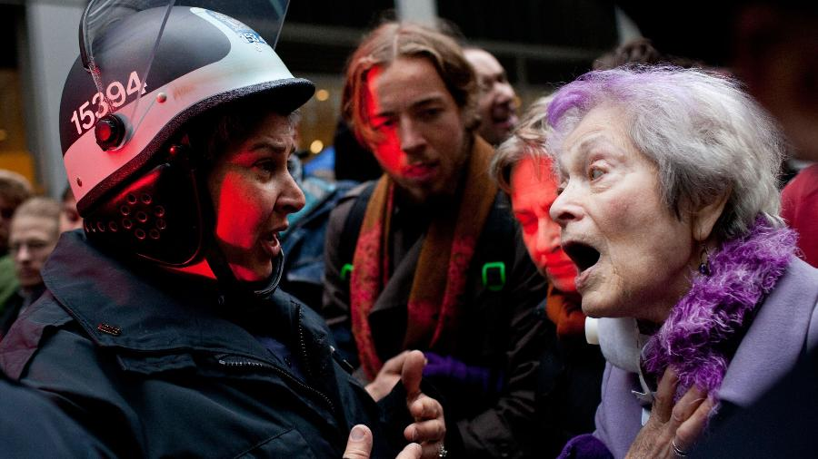 Frances Goldin - Andrew Burton/Getty Images