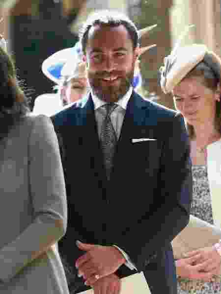 James Middleton tem 31 anos e costuma ser fotografado ao lado da irmã, Pippa, em torneios de tênis  - Getty Images