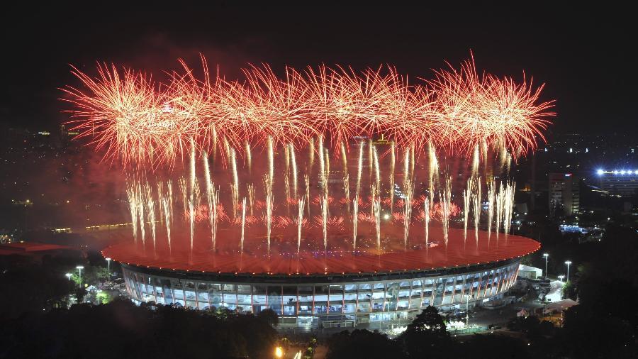 Jogos Asiáticos começaram no último fim de semana em Jacarta, na Indonésia - Xinhua/Zulkarnain