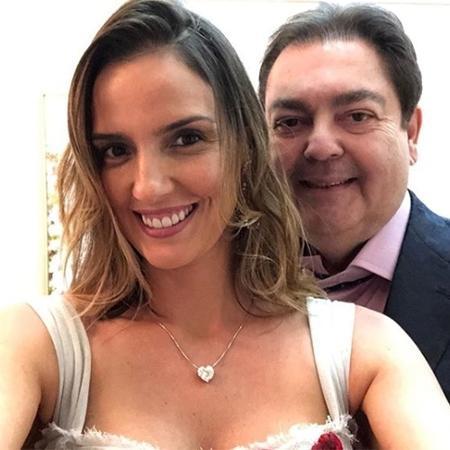 Luciana e Faustão estão juntos há 16 anos - Reprodução/Instagram